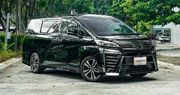 Toyota Vellfire 2.5 Z G Edition